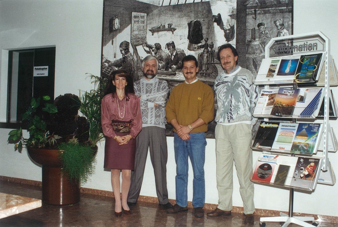 1988 Verkaufsteam Weibeldruck AG