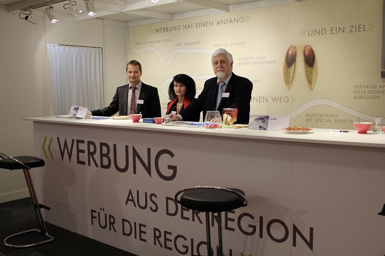 2012 Fam Weibel und Max Gasser an Expo Brugg Windisch