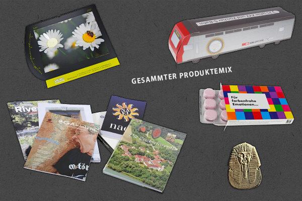 Gesamter Produktemix